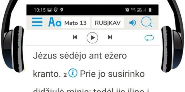 Audio Naujasis Testamentas mp3